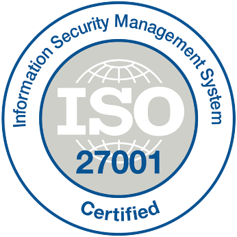 ISO 27001 certified data centers